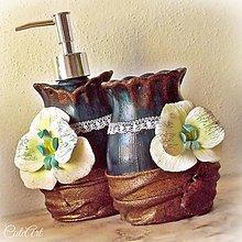 Nádoby - Orchid Jane (sada 2 ks) - kúpeľňová sada - 5933626_