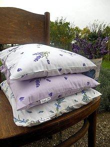 Úžitkový textil - Levandulový pohánkový vankúšik - 5931624_