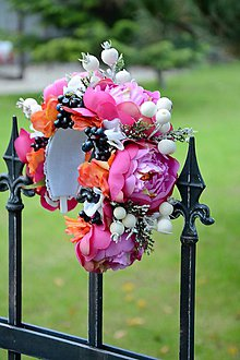 Ozdoby do vlasov - parta by michelle flowers - 5936760_
