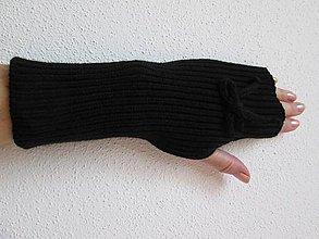 Rukavice - Návlek na ruce - černé - 5936349_