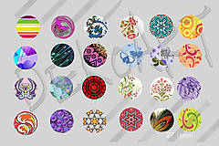 Materiál ručne robený - Motívy na šperky č.27 akcia na všetky 4+1 zdarma - 5936089_