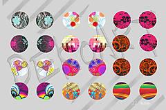 Materiál ručne robený - Motívy na šperky č.22 akcia 4+1 na všetky motívy - 5936098_