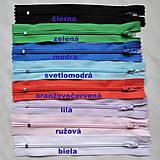 Galantéria - ZIPS plast 14,5x2,5cm-1ks - 5935862_