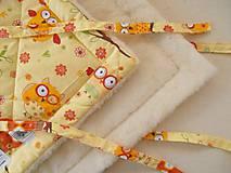 Textil - Zavinovačka merino vlna Super wash TOP - 5939396_