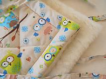Textil - Zavinovačka merino vlna Super wash Sovička - 5939428_