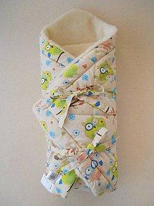 Textil - Zavinovačka merino vlna Super wash Sovička - 5939427_