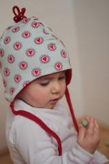 Detské čiapky - Detská ušatka do chladného počasia - 5935736_