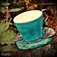 Nádoby - Pre Elfskú princeznú - šálka na piccollo - 5938026_