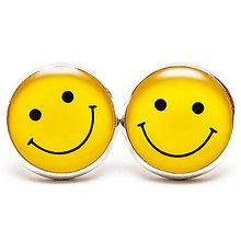 Náušnice - YELLOW SMILE :-) - 5936639_