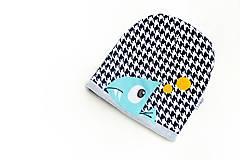 Detské čiapky - Crazy Little Piranha  - 5939752_