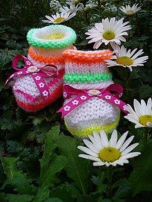 Detské topánky - Z motýlieho krídla, bábopapučky - 5939288_