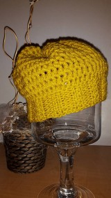 Čiapky - Olivová  čiapka - 5942350_