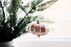 Dekorácie - Na stromček *1 Výpredaj! - 5941943_