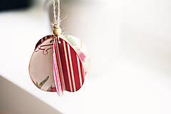 Dekorácie - Na stromček *2 Výpredaj! - 5941962_
