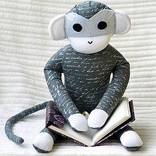Hračky - malá čitateľka - 5941104_