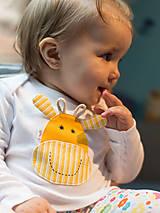 Detské oblečenie - body ŽIRAFKA (dlhý/krátky rukáv) - 5943548_