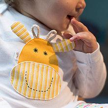 Detské oblečenie - body ŽIRAFKA (dlhý/krátky rukáv) - 5943551_