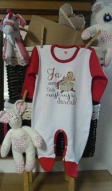 Detské oblečenie - Overalik nielen na Vianoce - 5942101_