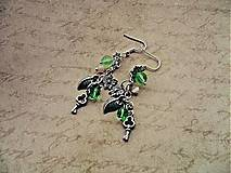 Náušnice - Kľúčiky od lesa  - 5942357_