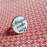 Prstene - prsteň Milujem svojho muža - 5943157_