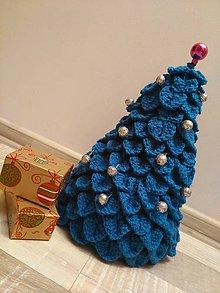 Dekorácie - strom-čeK (modrý) - 5943590_