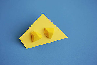 Náušnice - Astoria earrings yellow - 5943777_