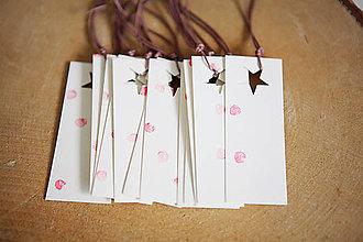 Papiernictvo - Visačky na darčeky *11 - 5945630_