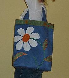 Nákupné tašky - Biely kvet - akcia - 5945989_