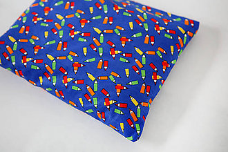 Úžitkový textil - Nezábudka: Pohánkový nahrievací vankúšik Ceruzky - 5944204_