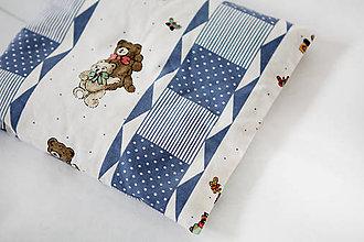 Úžitkový textil - Nezábudka: Pohánkový nahrievací vankúšik Sníček - 5946153_