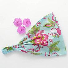 Ozdoby do vlasov - Kvety vo vode - 5947199_