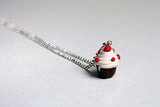 Náhrdelníky - Náhrdelník - Mafin - Cupcake - 5947824_