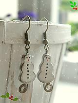 Náušnice - Milujem Vianoce - 5944260_