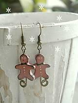 Náušnice - Milujem Vianoce - 5944364_