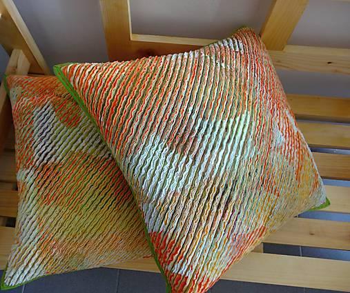 Žinylkové vankúše s nádychom pomaranča