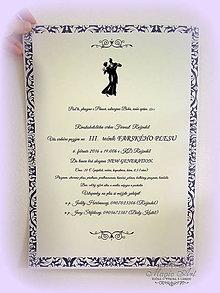 Papiernictvo - Plagát - Kráľovský ples - 5945103_