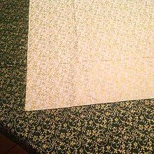 Úžitkový textil - Vianočný obrus - Pozlatený - - 5952116_