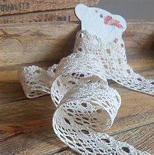 Galantéria - čipka bavlnená paličkovaná - 5948763_