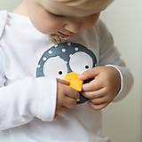 Detské oblečenie - body VTÁK GABO (dlhý/krátky rukáv) - 5952384_