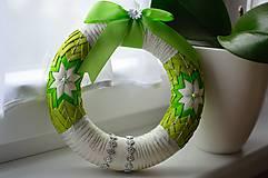 Dekorácie - Vianočný venček II. - 5948850_