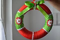 Dekorácie - Vianočný venček veľký - 5949301_