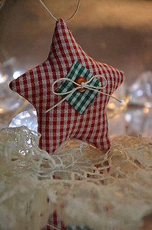 Dekorácie - Vianočné hviezdy - 5949209_