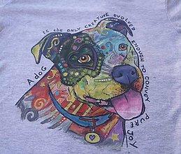 Detské oblečenie - veselý psík na tričku :-) - 5948651_