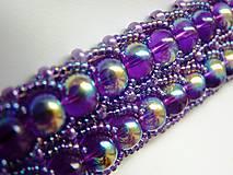 Náramky - Mystic lavender - náramok - 5949486_