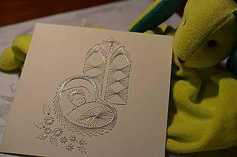 Papiernictvo - bábätko (štvorcová) - 5950102_