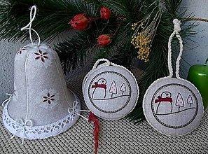 Dekorácie - Vianoce vo vidieckom štýle - 5955015_