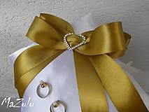 Prstene - svadobný vankúšik pod obrúčky - 5953331_