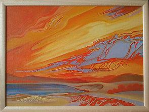 Obrazy - Západ slnka II - 5953915_