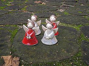 Dekorácie - anjeliky zvončeky - 5956413_