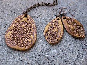 Sady šperkov - Bronz orient sada - akcia č.306 - 5955093_
